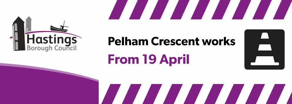 Pelham Crescent works - from 19th April