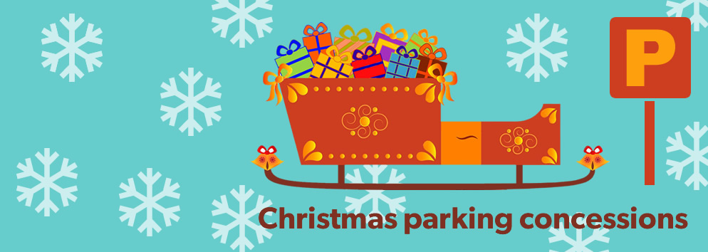 Find out about Christmas parking concessions