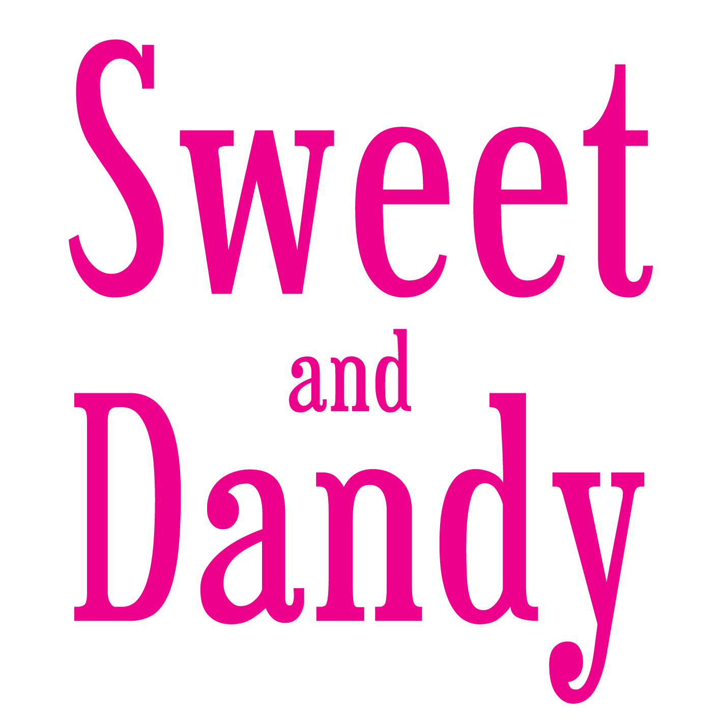 Sweet and Dandy logo