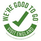 Good to Go Visit England logo