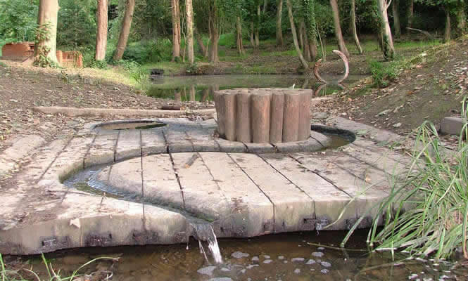 Summerfields woods art installation