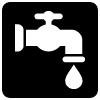 symbol - mains water