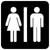 symbol - toilets