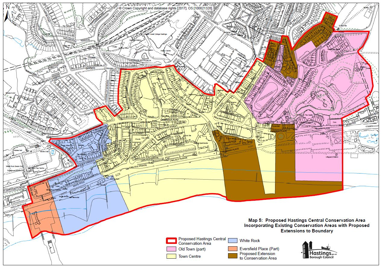 Draft Hastings Central Conservation Area Appraisal Consultation