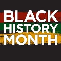 Logo for black history month