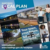 Hastings Draft Local Plan poster image